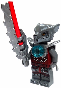 LEGO Legends of Chima LOOSE Mini Figure Wakz with Sword