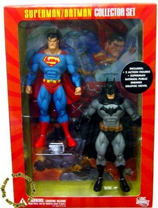 DC Direct Superman & Batman Public Enemies Action Figure Superman & Batman Collector Set 2-Pack