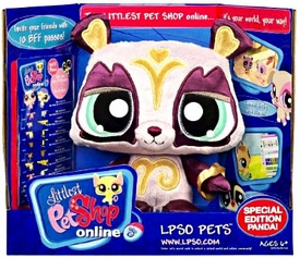 Littlest Pet Shop Online LPSO Web Game Plush Pet Special Edition Panda