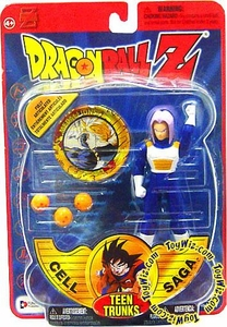 Dragonball Z Series 4 Cell Saga Action Figure Teen Trunks