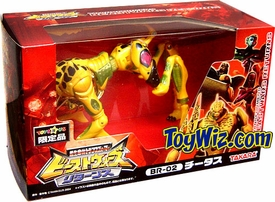 Transformers Japanese Beast Wars Returns Mega  #BR-02 Cheetor
