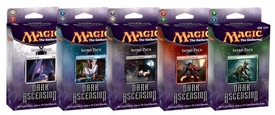 Magic the Gathering Dark Ascension Set of 5 Theme Deck Intro Packs