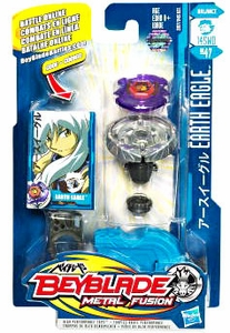 Beyblades Metal Fusion Balance Battle Top #BB47 Earth Eagle