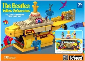 K'NEX Building Set #48464 The Beatles Yellow Submarine