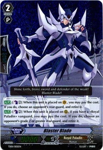 Cardfight Vanguard ENGLISH Blaster Blade Trial Deck Single Card Fixed TD01-005 Blaster Blade