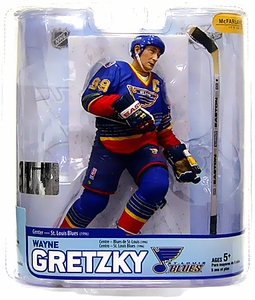 McFarlane Toys NHL Sports Picks Legends Series 5 Action Figure Wayne Gretzky (St. Louis Blues)