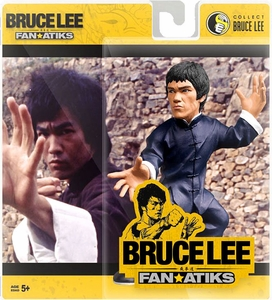 Round 5 Bruce Lee 6 Inch FanAtiks Series 4 Action Figure Bruce Lee [Kung Fu Pose]