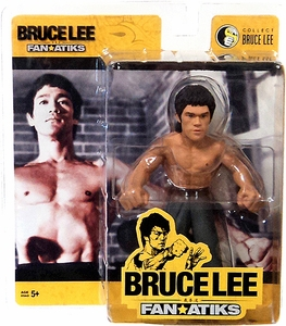 Round 5 Bruce Lee 6 Inch FanAtiks Series 3 Action Figure Enter the Dragon Bruce Lee [Black Pants]