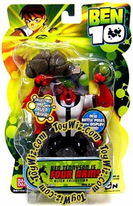 Ben 10 Alien 4 Inch Series 2 Action Figure FourArms [Battle Version]