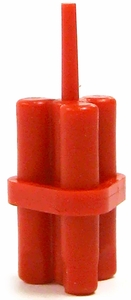 LEGO LOOSE Weapon Accessory Dynamite