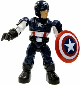 Marvel Mega Bloks LOOSE Series 2 Mini Figure Common Captain America