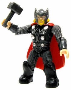 Marvel Mega Bloks LOOSE Series 2 Mini Figure Rare Thor