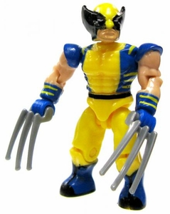 Marvel Mega Bloks LOOSE Series 2 Mini Figure Ultra Rare Wolverine