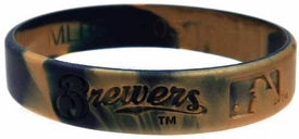 Official  Team Rubber Bracelet Milwaukee Brewers [Marble]