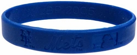 Official MLB Team Rubber Bracelet New York Mets [Blue]