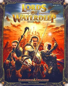 Dungeons & Dragons D&D Board Game Lords of Waterdeep