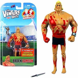 Bif Bang Pow! Venture Bros. 3 3/4 Inch 2013 SDCC San Diego Comic-Con Exclusive Action Figure Naked Brock Sampson