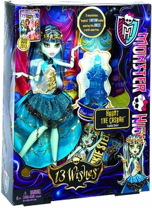 Monster High 13 Wishes Haunt the Casbah Deluxe Doll Frankie Stein