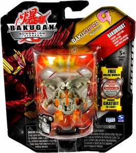 Bakugan Bakusuper G Single Figure Luminoz [Gray] Rubanoid