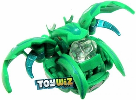 Bakugan Super Assault LOOSE Single Figure Zephyroz [Green] BakuChance {Includes Clear Die!} [Dice Thrower!]
