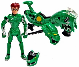 Voltron The Third Dimension LOOSE Action Figure Pidge [with Blasting Space-Speeder Bike!]