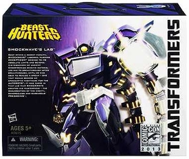 Hasbro Transformers Beast Hunters 2013 SDCC Comic Con Exclusive Shockwave's Lab