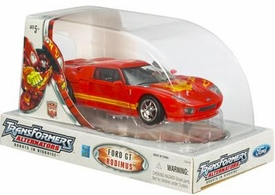 Transformers Hasbro Alternators 2007 Comic-Con Exclusive Figure Rodimus Ford GT