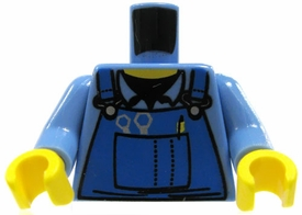 LEGO LOOSE Torso Mechanic Shirt with Blue Overalls