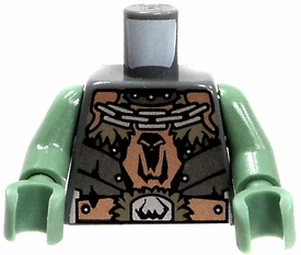LEGO LOOSE Torso with Troll Badge & Chains