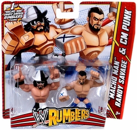 WWE Wrestling Rumblers Mini Figure 2-Pack
