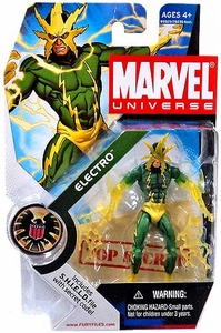 Marvel Universe 3 3/4 Inch Series 5 Action Figure #25 Electro [Translucent Hands & Lightning Variant]