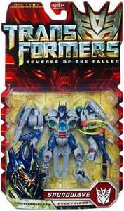 Transformers 2: Revenge of the Fallen Deluxe Action Figure Soundwave