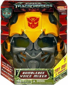 Transformers 2: Revenge of the Fallen Movie Robot Roleplay Bumblebee Voice Mixer Helmet