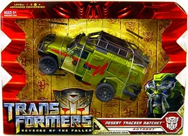 Transformers 2: Revenge of the Fallen Voyager Action Figure Desert Tracker Ratchet