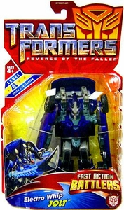 Transformers 2: Revenge of the Fallen Action Figure Fast Action Battlers Electro Whip Jolt