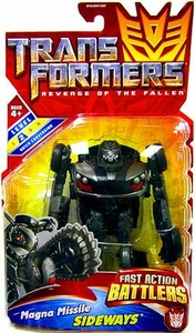 Transformers 2: Revenge of the Fallen Action Figure Fast Action Battlers Magna Missile Sideways