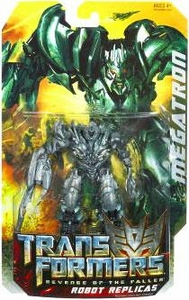 Transformers 2: Revenge of the Fallen Robot Replicas Super-Articulated Action Figure Megatron