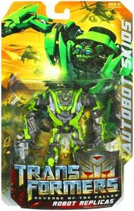 Transformers 2: Revenge of the Fallen Robot Replicas Super-Articulated Action Figure Autobot Skids