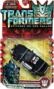 Transformers 2: Revenge of the Fallen Deluxe Action Figure Interrogator Barricade