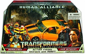 Transformers 2: Revenge of the Fallen Movie Human Alliance Bumblebee with Sam Witwicky