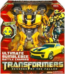 Transformers 2: Revenge of the Fallen Action Figure ULTIMATE Bumblebee [Battle Charged]