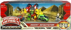 Transformers 2: Revenge of the Fallen Movie Robot Heroes Desert Devastation
