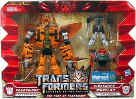 Transformers 2: Revenge of the Fallen Exclusive Action Figure 3-Pack Fury of Fearswoop [Fearswoop with Mudflap & Sideswipe]