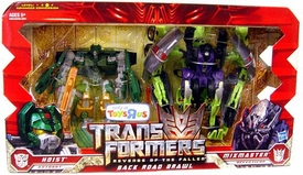 Transformers 2: Revenge of the Fallen Exclusive Action Figure 2-Pack Back Road Brawl [Hoist & G1 Colored Mixmaster]