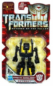 Transformers 2: Revenge of the Fallen Hasbro Legends 2010 Series 1 Mini Action Figure Stealth Bumblebee