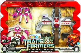 Transformers 2: Revenge of the Fallen Exclusive Voyager & Deluxe Action Figure Combo 3-Pack Shanghai Showdown [Autobot Skids, Mudflap & Demolishor]