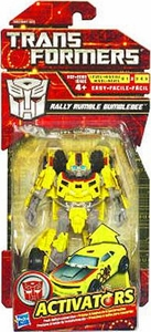 Transformers Activators Action Figure Rally Rumble Bumblebee