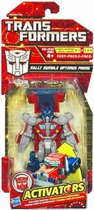 Transformers Activators Action Figure Rally Rumble Optimus Prime