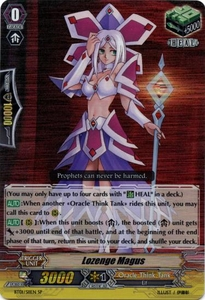 Cardfight Vanguard ENGLISH Descent of the King of Knights Single Card SP Rare BT01-S11 Lozenge Magus