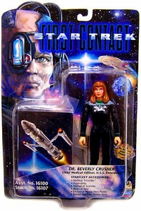 Star Trek: Deep Space Nine Playmates Action Figure First Contact Beverly Crusher